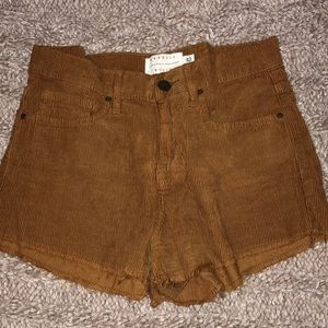 Brown Kendall and Kylie pacsun shorts